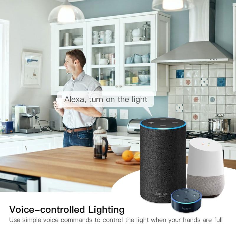 Wifi Smart Light Switch Diy Breaker Automation Module Smart Life/Tuya APP Remote Control,Works with Alexa Google Home 1/2 Way