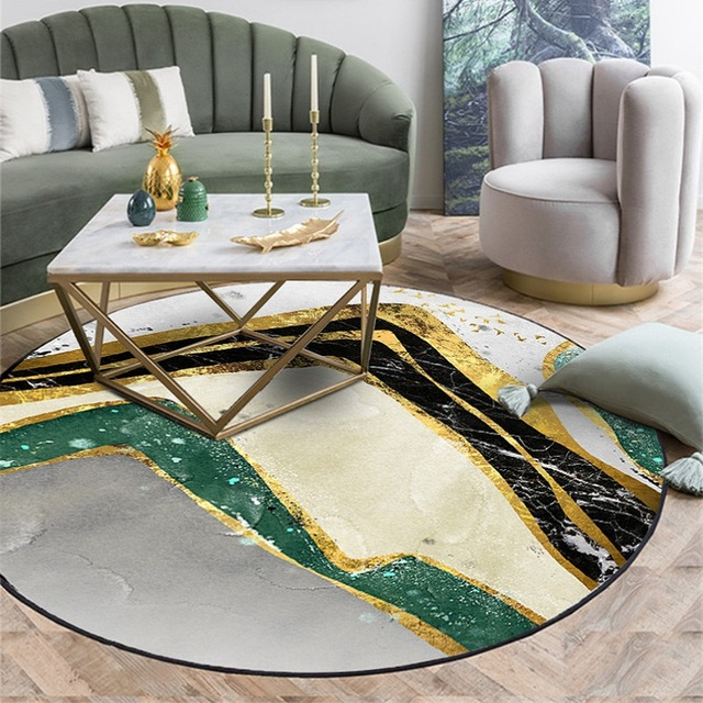 Modern Nordic Round Carpet