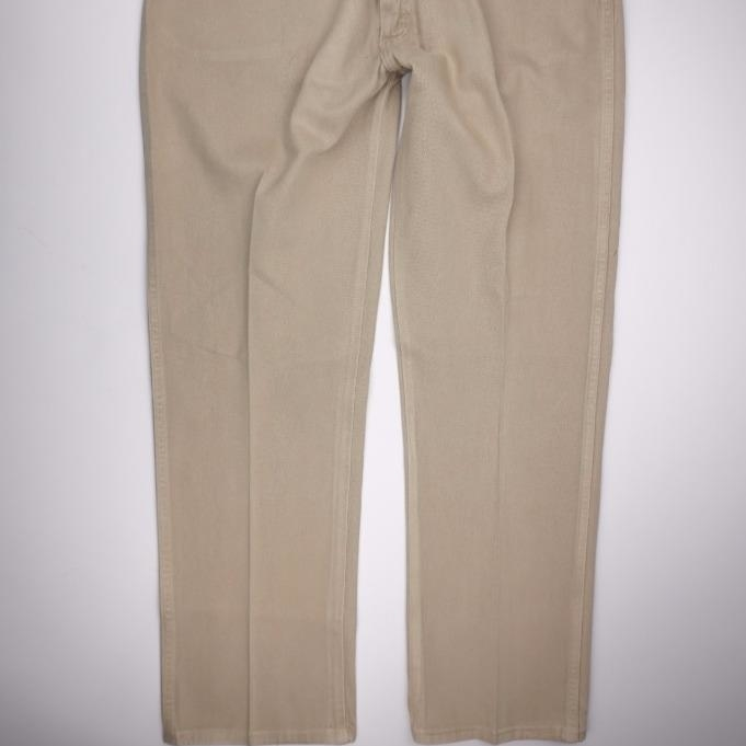 WRANGLER VTG 13MWZTN Cowboy Cut Orig Fit <font><b>Jeans</b></font> <font><b>Tan</b></font> Denim Mens 40x30