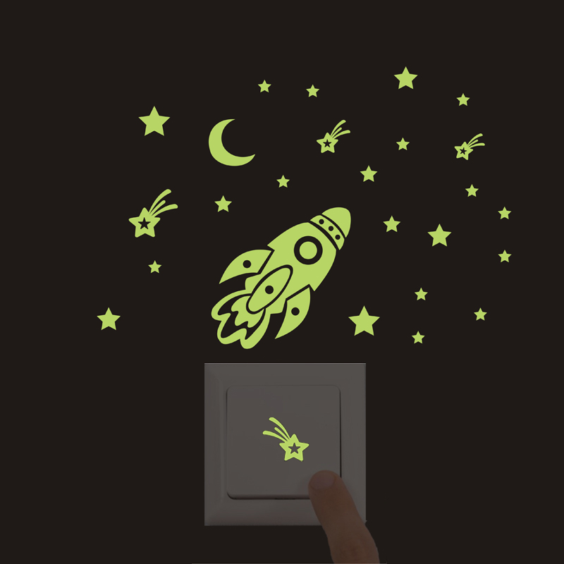 Luminous-Cartoon-New-3D-wall-Stickers-for-Kids-Room-meteor-shower-Glow-in-the-Dark-wall(3)