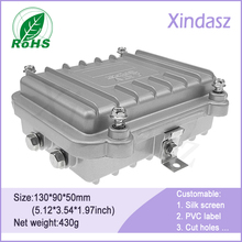 3pcs Lot Free shipping 130 90 50mm waterproof alumnium diecast box diecasting case aluminium enclosures for