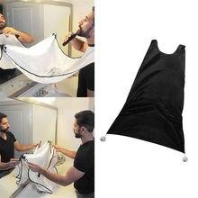 120x80 см Мужской фартук для ванной комнаты мужской черный передник для Бороды Волос передник для бритья для мужчин водонепроницаемая цветочная ткань Бытовая Чистящая защита