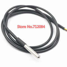 DS18b20 Stainless steel package Waterproof DS18b20 temperature probe temperature sensor 18B20 For Arduino