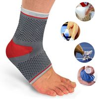 Sport Ankle Protection Breathable Elastic Half Foot Socks Padded Ankle Support Brace Football Basketball Ankle Protectors