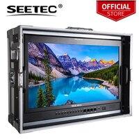 Seetec P215 9HSD CO 21,5 ips Full HD 1920x1080 Carry на трансляции монитор с 3G SDI HDMI AV YPbPr директор монитор чемодан