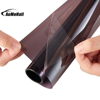 0 5 3m Light Gray Uv Insulation Car Window Tint Film VLT 45 2 Ply Solar