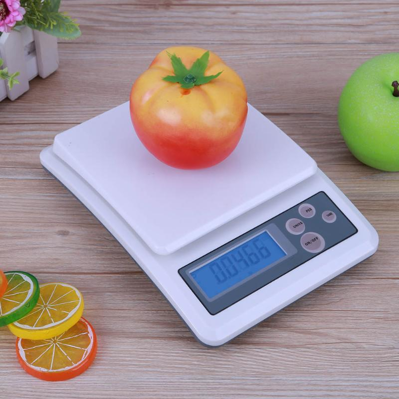 0.1g High Precision LCD Display Electronic Scale Food Diet Kitchen Scale Jewelry Balance Scales Jewellery Weighing Scales  300g 0 01g digital pocket scale high precision lcd display mini electronic scale portable jewelry scale kitchen scale balance