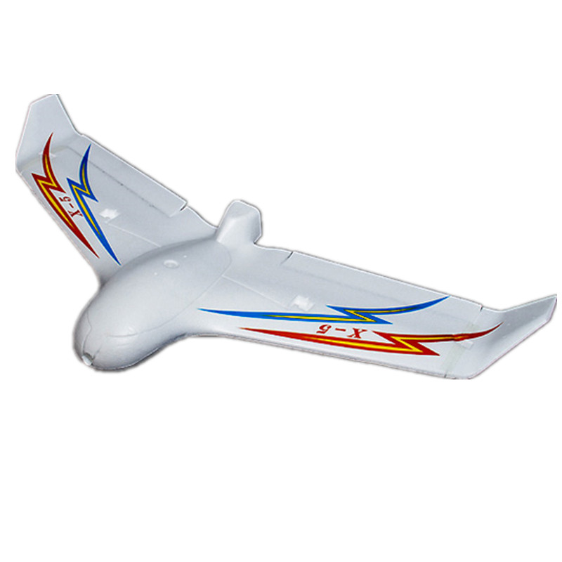 Fix wing FPV Skywalker X5 UAV Flying Wing 1180mm White Glider FPV Airplane EPO rc plane