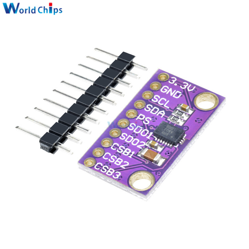9DOF BMX055 IMU Precision Integrated 9-Axis Attitude Sensor Board Module Diy Electronic For Arduino Replace MPU9250 IIC I2C