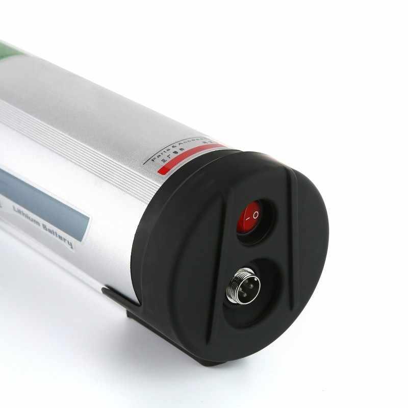 Стиль бутылки воды велосипед батарея 36v 10ah аккумулятор и зарядное устройство