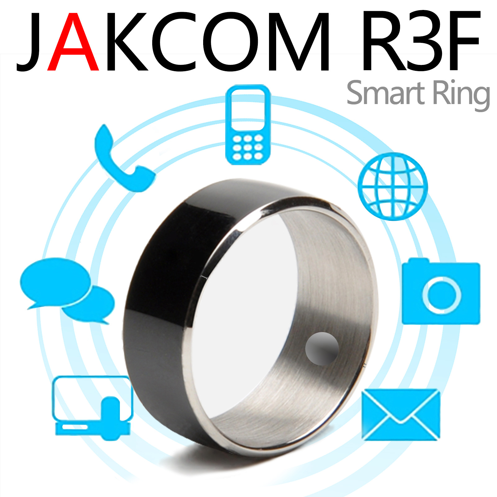 Jakcom R3F Smart Ring For High Speed NFC Electronics Phone Smart Accessories Enabled Wearable Technology Magic NFC Ring цена