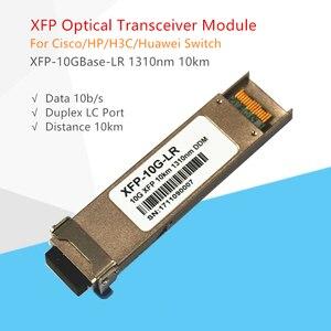 Image 5 - XFP 10G Modulo Ricetrasmettitore 10Gbase LR SMF TRx1310nm XFP Modulo In Fibra Ottica Compaticable per Cisco/Mikrotik/Zyxel Interruttore modulo