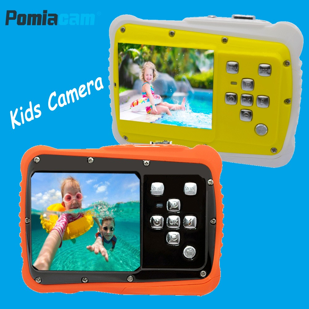 Waterproof Kids Camera 2 inch LCD with built-in microphone Children Birthday Gift Mini Cute Camera for Kids Swimming Diving 5262Waterproof Kids Camera 2 inch LCD with built-in microphone Children Birthday Gift Mini Cute Camera for Kids Swimming Diving 5262