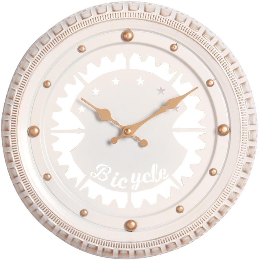 Américain moderne horloges murales salon métal or décor montre mur belle Horloge murale décoration de la maison accessoires horloges