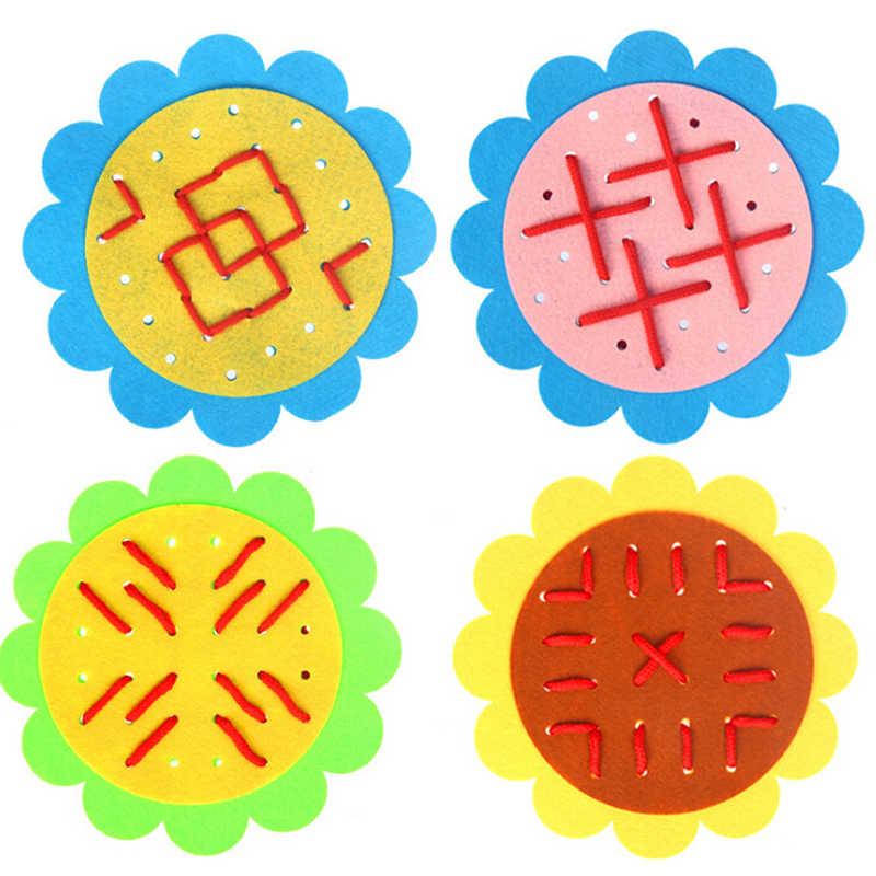교육 유치원 매뉴얼 diy 직조 천 몬테소리 재료 아기 조기 교육 장난감 교육 보조 수학 장난감 새로운
