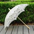 QUNYINGXIU hecho a mano encaje soleado paraguas proceso encaje paraguas fotografía Recital de baile de la decoración de la boda paraguas de sol