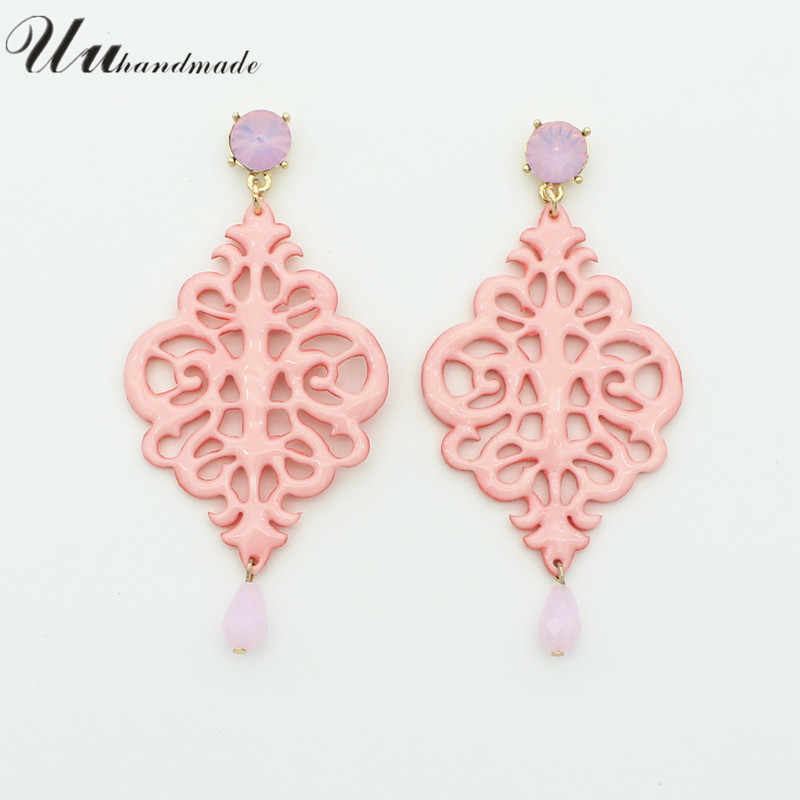 2018 Sale Trendy Orecchini Brincos New Style Long Leather Earrings For Women Pendientes Fashion Jewelry And Colors Female Gifts