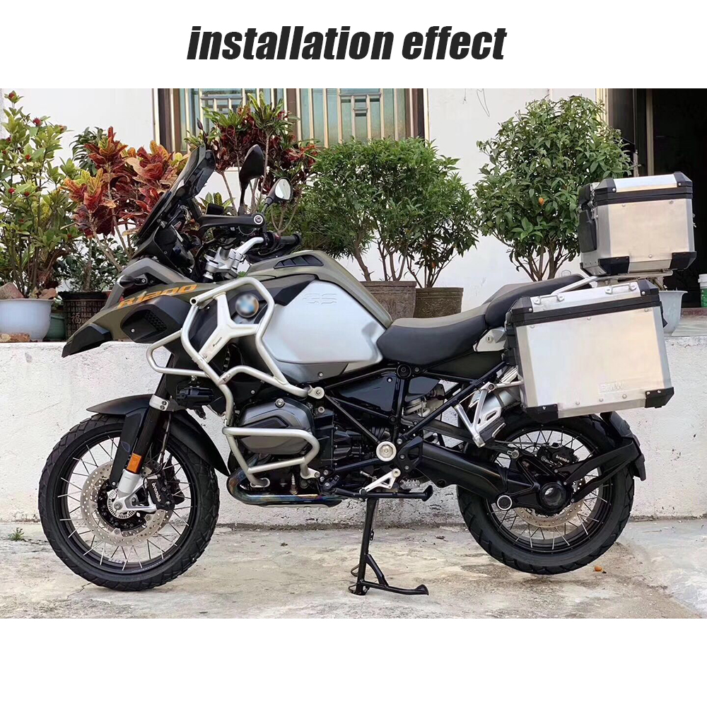 Image 5 - 2019 R1200GS LC ADV Upper Crash Bar Extensions For BMW R1200GS ADV Adventure water cooled 2014 2015 2016 2017 2018 Engine GuardCovers & Ornamental Mouldings   -