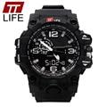 Fashion TTLIFE Brand Relogio Masculino Relojes Men LED Military Waterproof Watch Quartz Digital Wristwatches Men Sports Watches