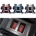 Automotive decoration part for Lifan X60 2011 2012 accessory Rubber non-slip mats Interior door pad cup mats 15pcs