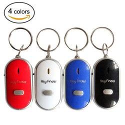Mini Anti-verloren Whistle Key Finder Blinkt Piepen Fern Kinder Schlüssel Tasche Brieftasche Locators Kind Alarm Erinnerung Drop Verschiffen
