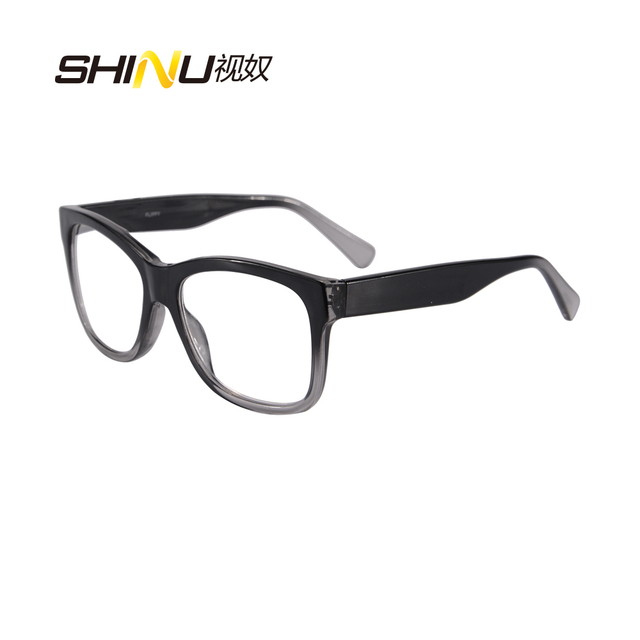 new Excellent Quality Reading Glasses Men Progressive Multifocal focus Lens Eyeglasses Unisex Casual Presbyopic Glasses 9966