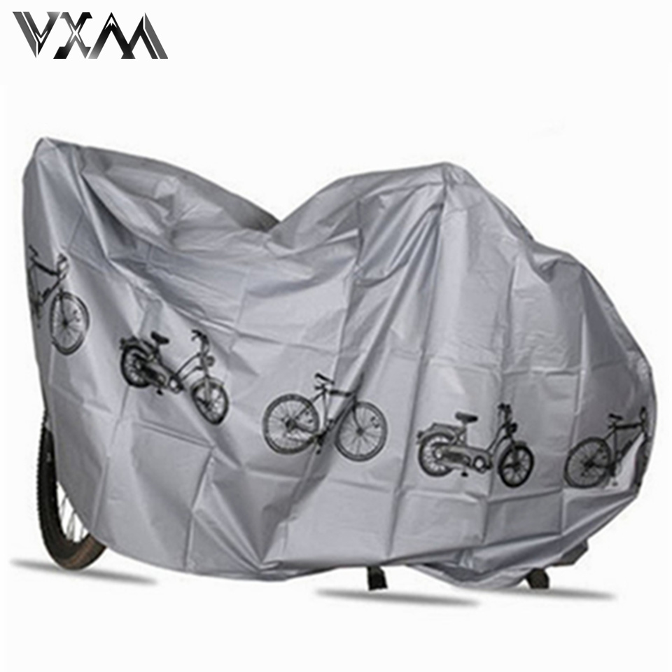 26 29 29er Bike MTB Waterproof Cover Protector Bicycle Cycling Rain Dust Protector Cover Waterproof Protection White