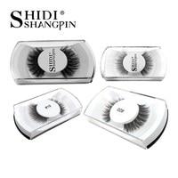SHIDISHANGPIN 30 pairs eyelashes false lashes 3 D mink natural long makeup fake lashes lashes 30 boxes mink volume eyelashes