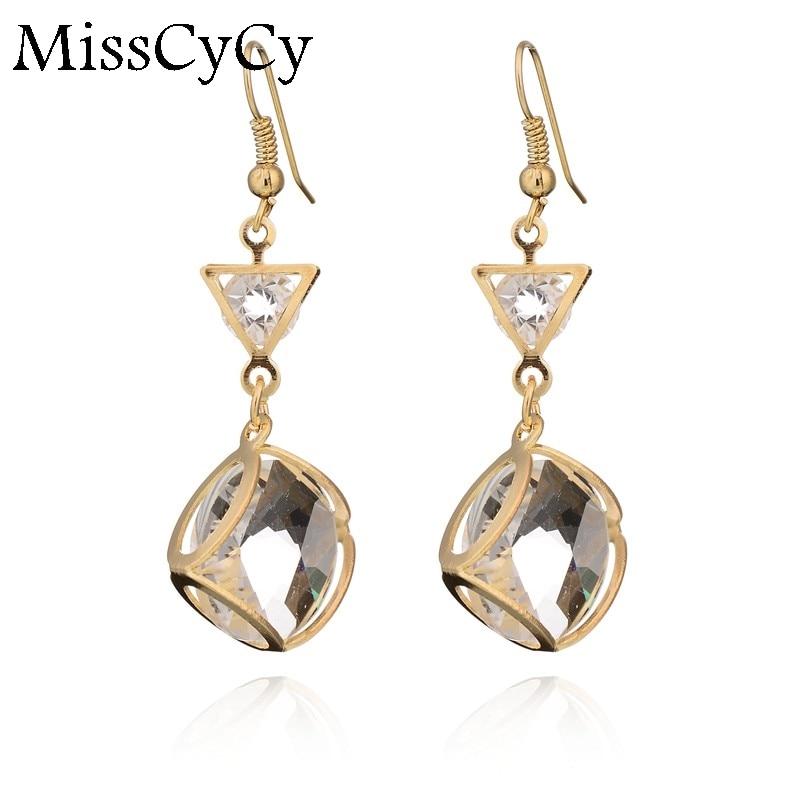 MissCyCy Popular Fashion Earring Women Fine Jewelry ...