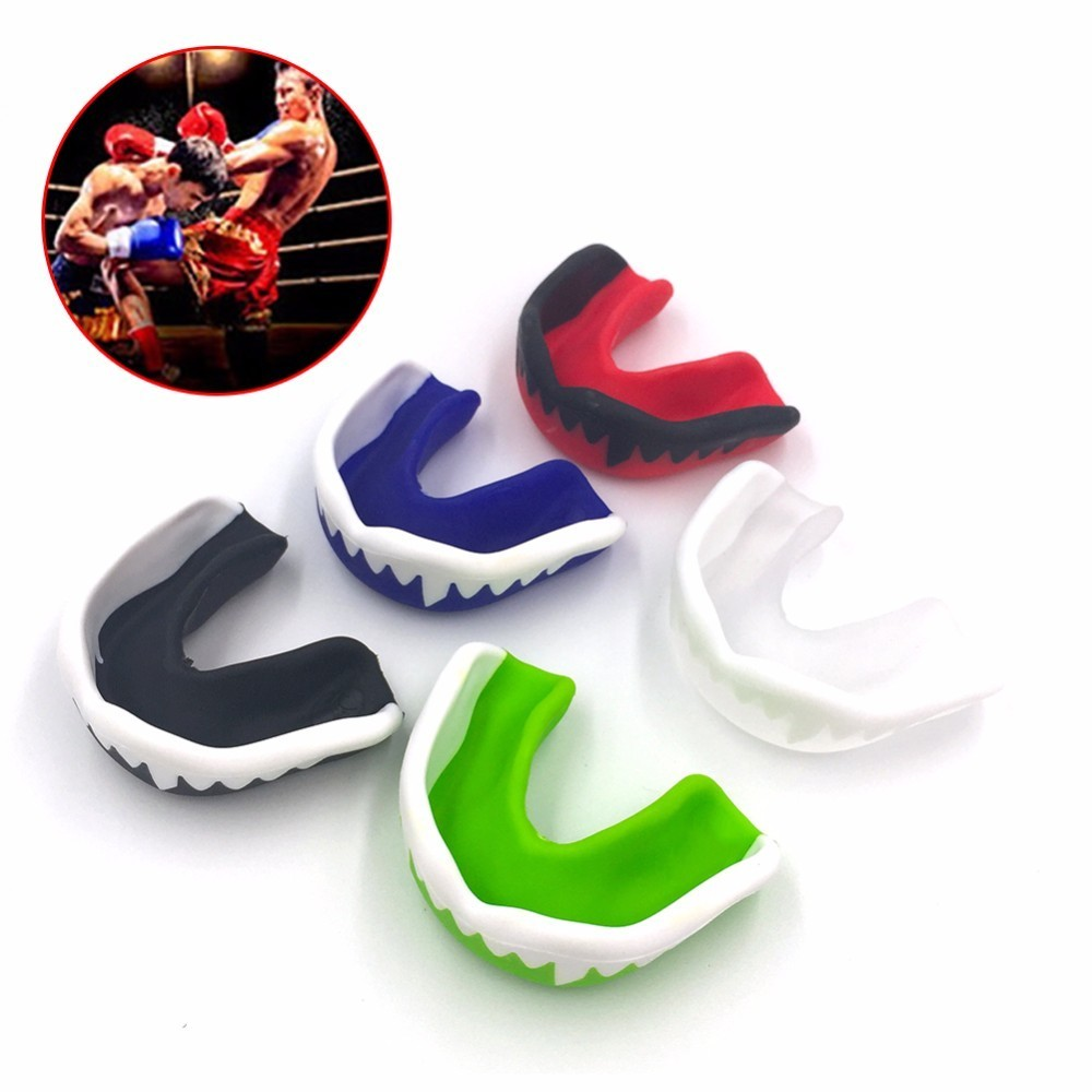 Boxing Mouth Tooth Guard Silicone Mouthguard Gum Shield Football Basketball Muay Thai Gym Fight Sport Safety Teeth Protector