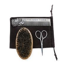 3Pcs Wood Men's Beard Brush Comb Kit Beard Shaping Styling Template Comb Men Shaving Tools Hair Trim Template