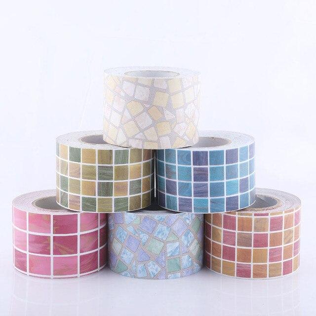 Klassische Mosaik Aufkleber Vinyl Wasserdichte Taille selbstklebende ...