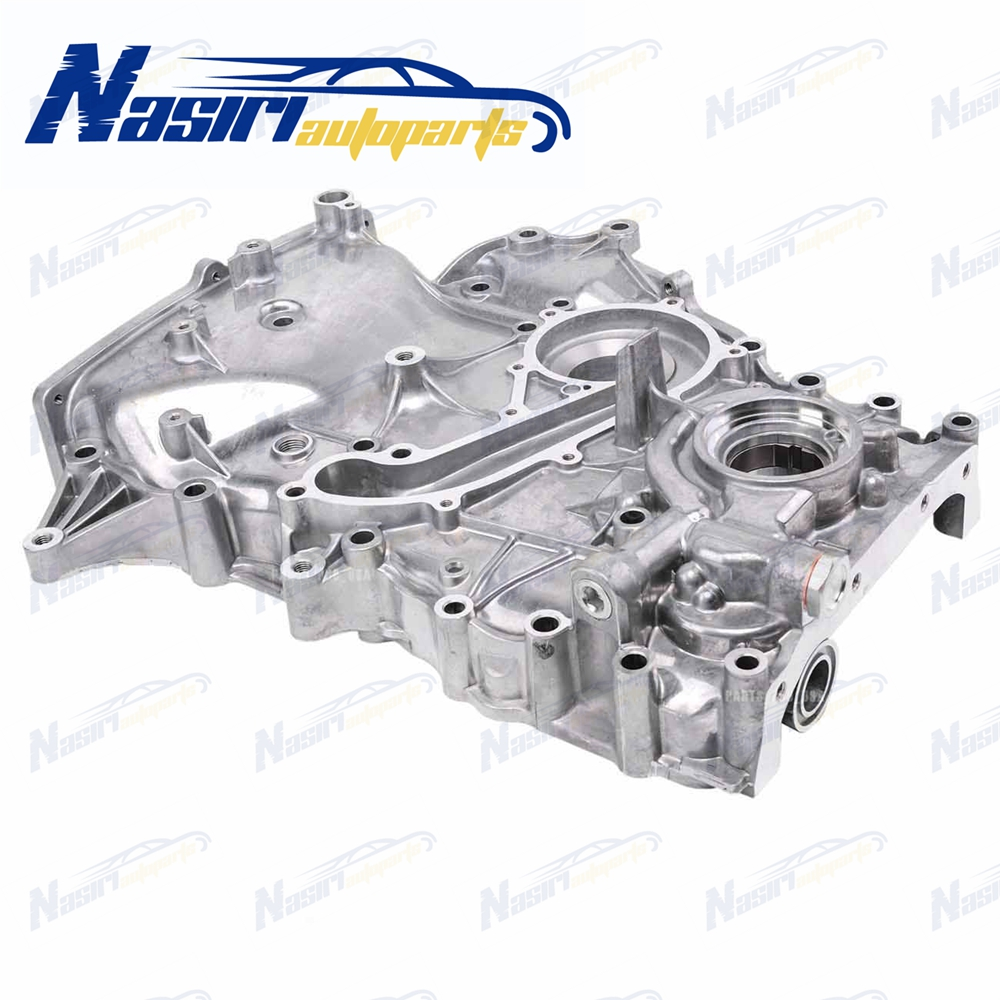Engine Timing Cover with Oil Pump For Toyota Tacoma 05 15 2.7L DOHC L4 16V 2TRFE #11310 75070