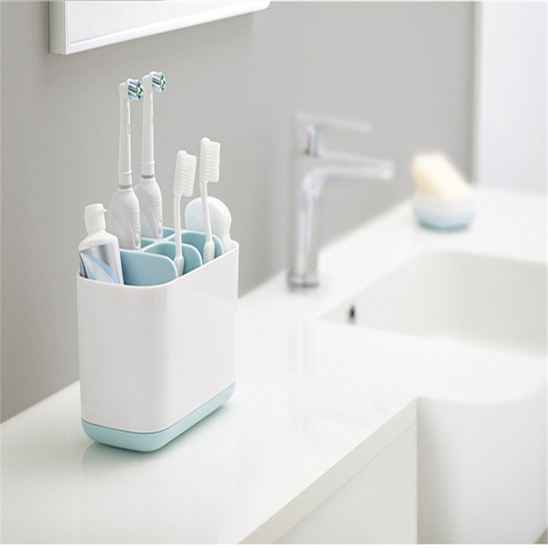 Toilet Toothpaste Wash Set Electric Toothbrush Bathroom Shelf Kitchen Soap Cleaning Brush Storage Toilet Organizer