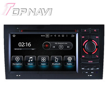 7 inch Quad Core Android 5.1.1 Car Radio Stereo Video Player For Audi A4(2002-2008) With Multimedia DVD GPS Stereo