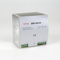 Din Rail Single Output Switching Power Supply DR 240 24 240W 24V 10A Ac Dc Converter