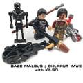 LEPIN Rogue Uno Baze Malbus Chlrrut Imwe Figuras Clásicas K2-SO Starwars STAR WARS Robot Bloques de Construcción Ladrillos Juguetes Estrella de La Muerte