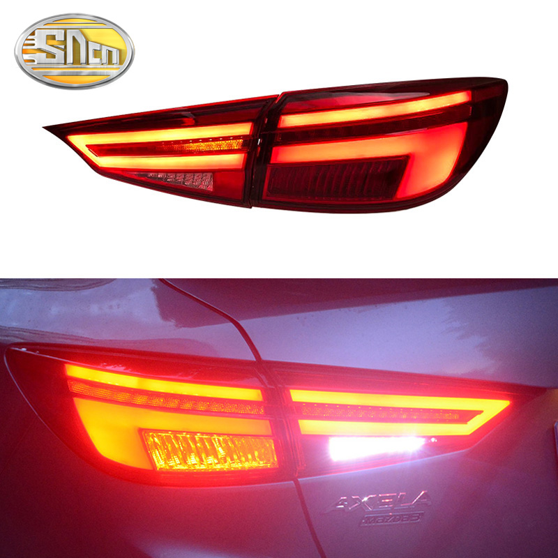 Car Styling For Mazda 3 Tail Lights 2014 2018 Mazda3 Axela Tail Light Orignal Design LED Rear Lamp DRL Brake Park Signal light in Car Light Assembly from Automobiles Motorcycles