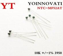 100 шт., резистор для термистора 10k OHM NTC NTC-MF52AT 10K +/-5% 3950 +/-%