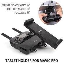 Suporte estendido Remoto Controlador 4.7-12.9in Final Titular Tablet Suporte Do Telefone com Alça para DJI FAÍSCA MAVIC Pro/ar