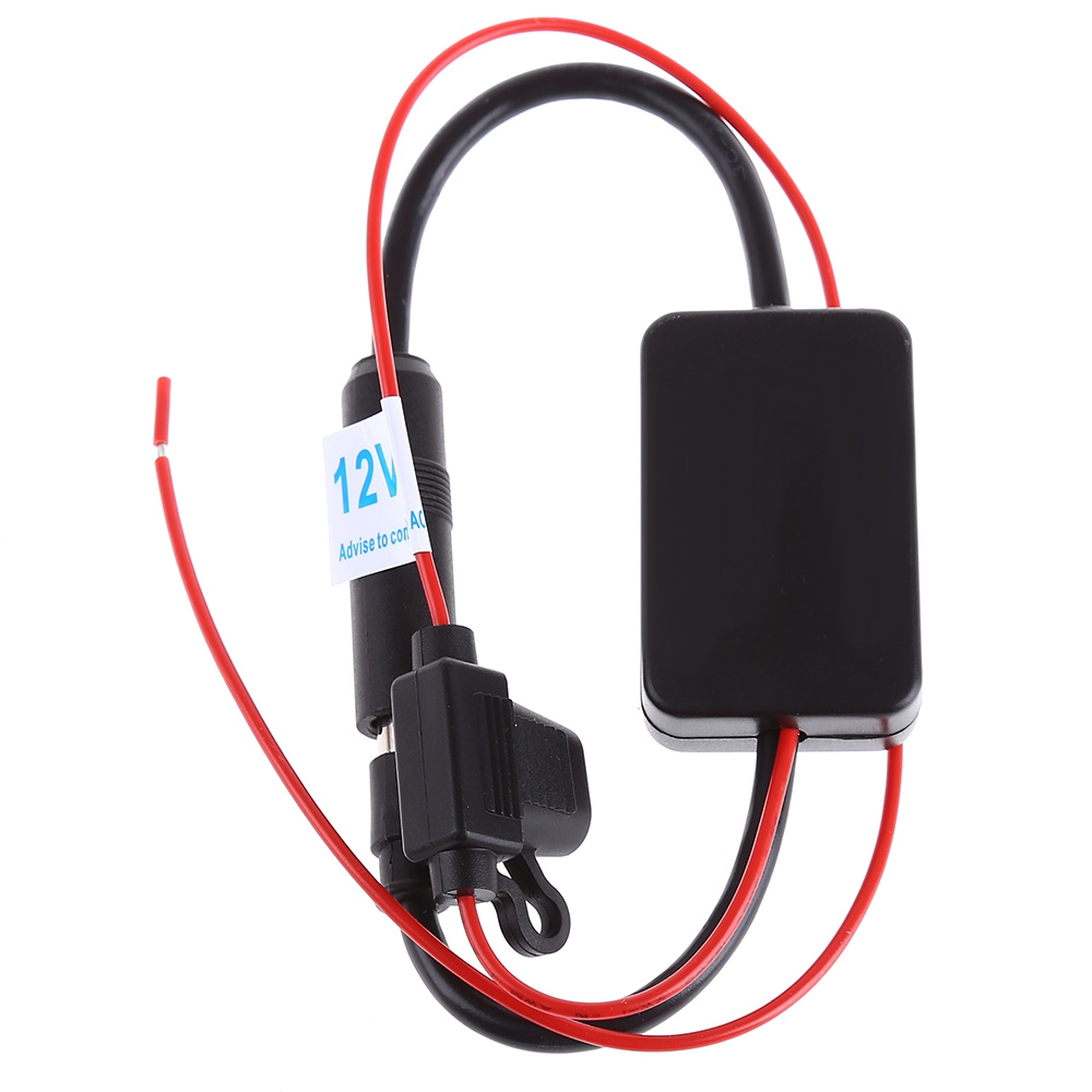 Free Shipping DC 12V Ant - 208 Radio FM Antenna Signal Amplifier Booster for Marine Car Boat RV