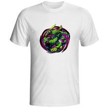 Anime Rayquaza Short Sleeve Printed T-shirt Hip Hop Cool Fashion T Shirt Design Creative Brand Women Men Top