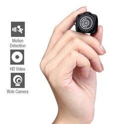 Mini Câmera Sem Fio 720 P Video Audio Recorder Camcorder Webcam Pequeno Carro Esporte DV DVR Secreta Segurança Babá Cam Micro fone de ouvido com Microfone