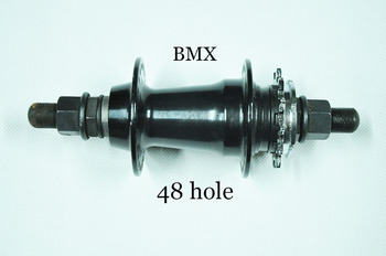Famous FA  brand ball bead 48 hole 12 T right drive star bmx rear hub with 14mm axle