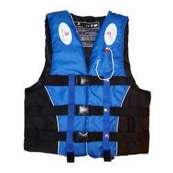 Полиэстер взрослых дети спасательный жилет куртка плавание на лодках лыжи дрейфующих спасательный жилет со свистком M-XXXL размеры водных