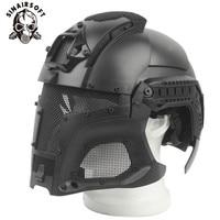 Military Ballistic Tactical Helmet Side Rail NVG Shroud Transfer Base Dial Knob Sport Army Combat Airsoft Paintball Mask Helm