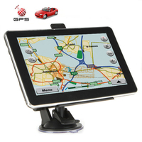 7 Inch Touch Screen Car GPS Navigation GPS Navigator FM Transmitter Buddle Latest Maps For Europe