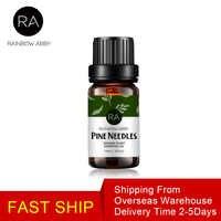 Nueva llegada aceite de agujas de pino puro Natural planta antiinflamatorio antibacteriano aceites esenciales 10ML para difusores de aromaterapia
