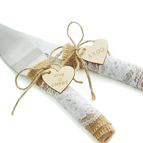Wedding Cake Knife Rustic Cake Knife Country Wedding Cake Serving Set Rustic Wedding Cake Knife Set Barn Wedding Decorate in Cake Decorating Supplies from Home Garden