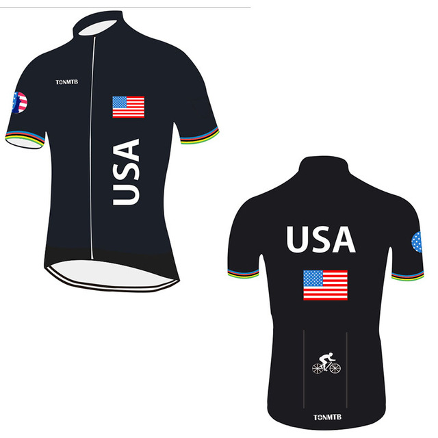Lowest Price 2018 New Special Design Ropa Ciclismo Breathable USA Biking  jersey Maillot Cycling Wear Bike Apparel Italy Ink 385282a27